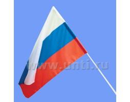 Флажок России 15х22 см