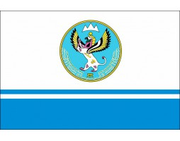 Флаг Алтая с гербом