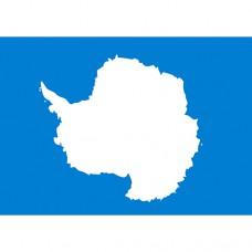 флажок Антарктиды