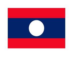 флажок Лаоса