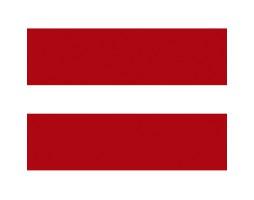 флажок Латвии