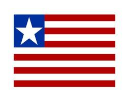 флажок Либерии