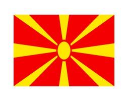 флажок Македонии