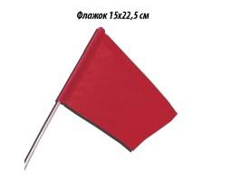 флажок красный