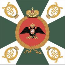 Флажок Пехотные полки 1813 года